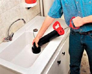 Устранение засоров канализации своими руками